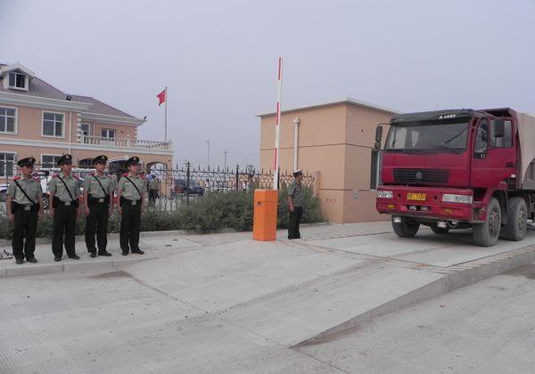 滨唐公路高庄超限检测站正式启动
